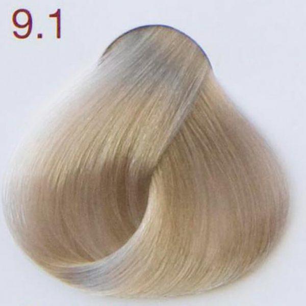 kolor 9.1 bardzo jasny popielaty blond
