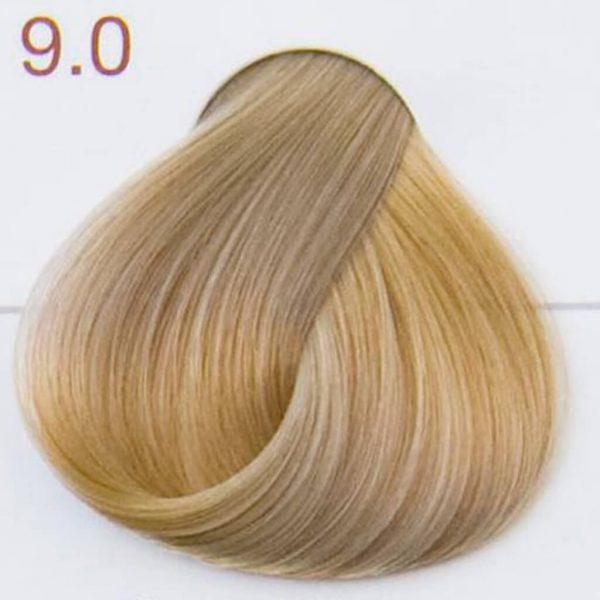 próbka koloru 9.0 bardzo jasny popielaty blond