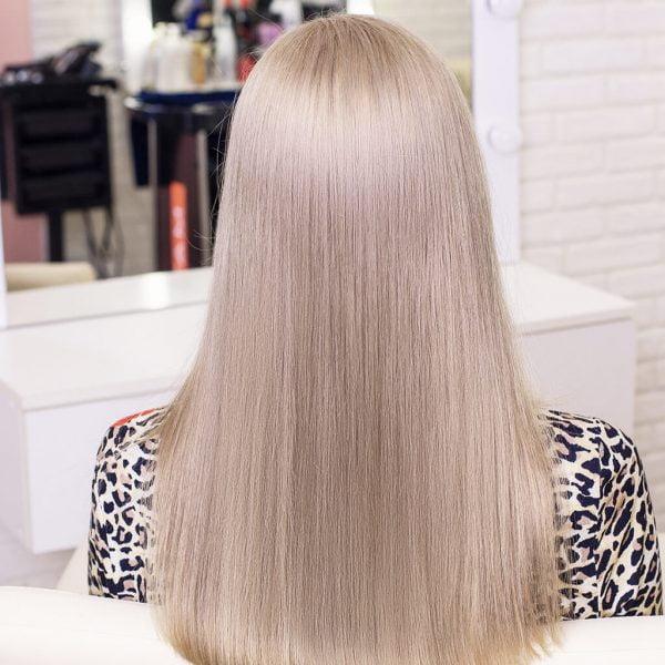 włosy bardzo jasny popielaty blond 9.1