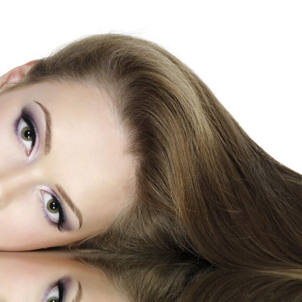 efekt farbowania farbą 8.1 jasnopopielaty blond