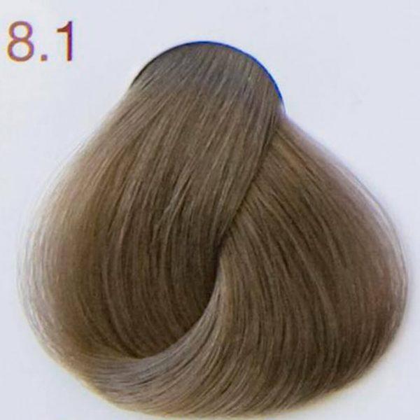 próbka koloru 8.1 jasnopopielaty blond