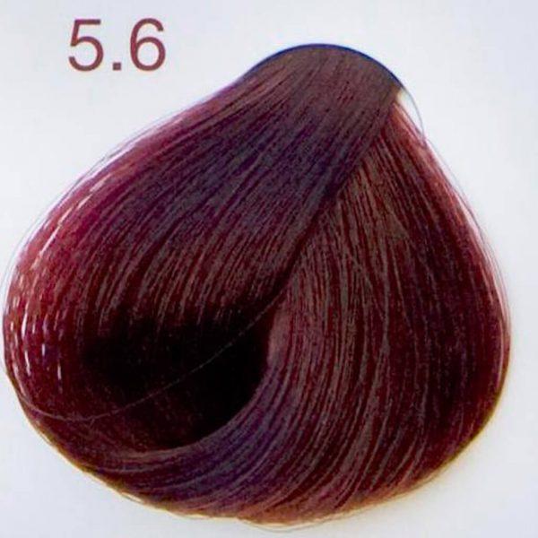 jasny mahoniowy kasztan próbka koloru