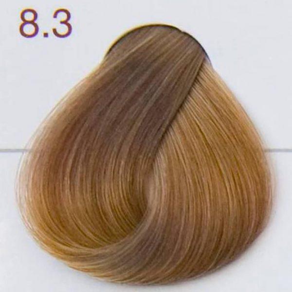 próbka koloru jasny złoty blond