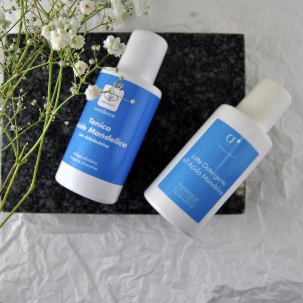 kosmetyki oczyszczające do twarzy z kwasem migdałowym