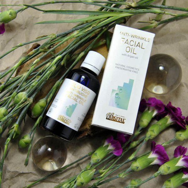 olejek na zmarszczki arganowo-różany