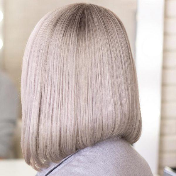 efekt koloryzacji rozjaśniacz do włosów