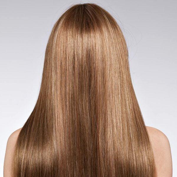 efekt koloryzacji farbą 7.3 złoty blond
