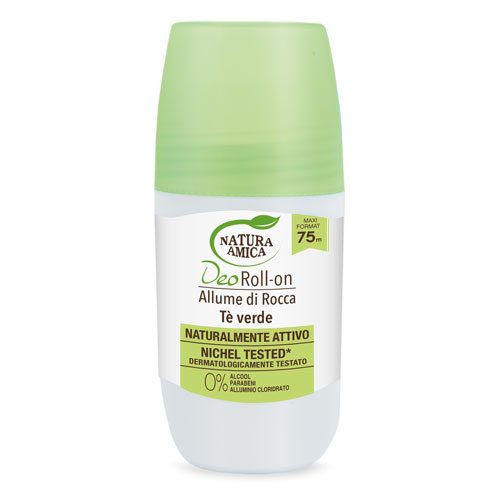Ałun potasowy zielona herbata dezodorant roll-on