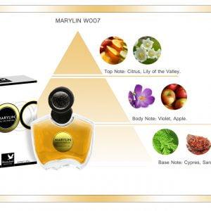 woda perfumowana dla kobiet o zapachu piżma i wanilii