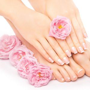 Pielęgnacja paznokci, dłoni, stóp