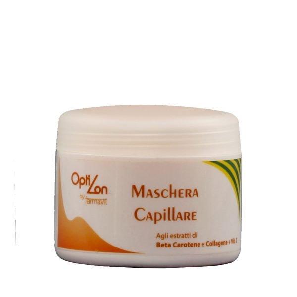 maska odżywcza do włosów kolagen i beta caroten