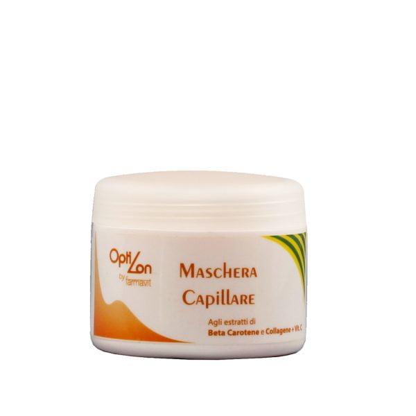 odżywcza maska do włosów z beta-karotenem