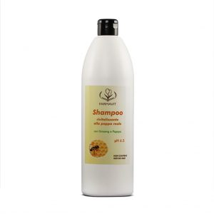 szampon z pyłkiem pszczelim wzmacniający