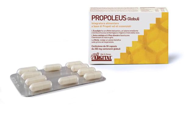 propolisowe kapsułki naturalny antybiotyk