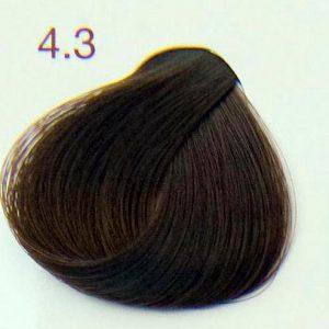 krem do farbowania włosów złoty kasztan