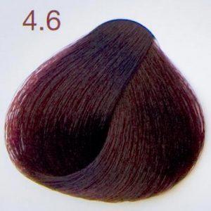 krem do farbowania włosów ciemny mahoń