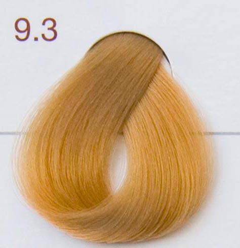 krem do farbowania włosów - bardzo jasny złoty blond
