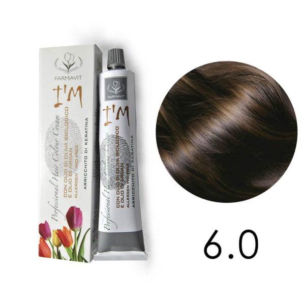 ciemny blond 6.0 krem do koloryzacji włosów