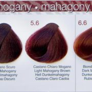 mahoniowe kolory