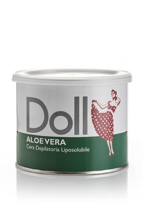 wosk do depilacji - aloe vera