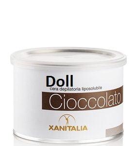 wosk do depilacji o zapachu czekoladowym