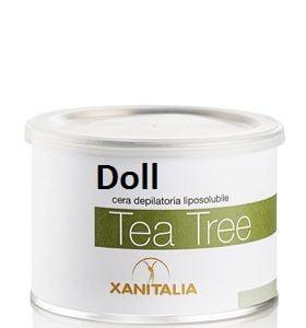 wosk do depilacji o zapachu drzewa herbacianego