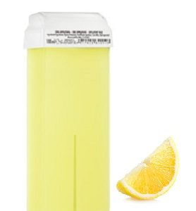wosk do depilacji w rolce o zapachu cytrynowym