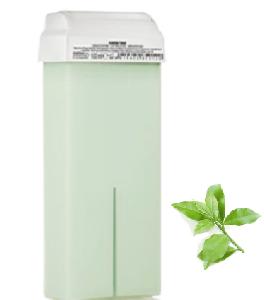 wosk do depilacji w rolce z zieloną herbatą