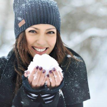 Pielęgnacja twarzy zimą