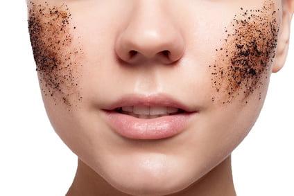 Naturalny peeling twarzy