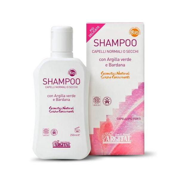 glinka na włosy szampon