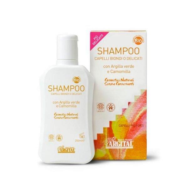 szampon do włosów blond rumiankowy